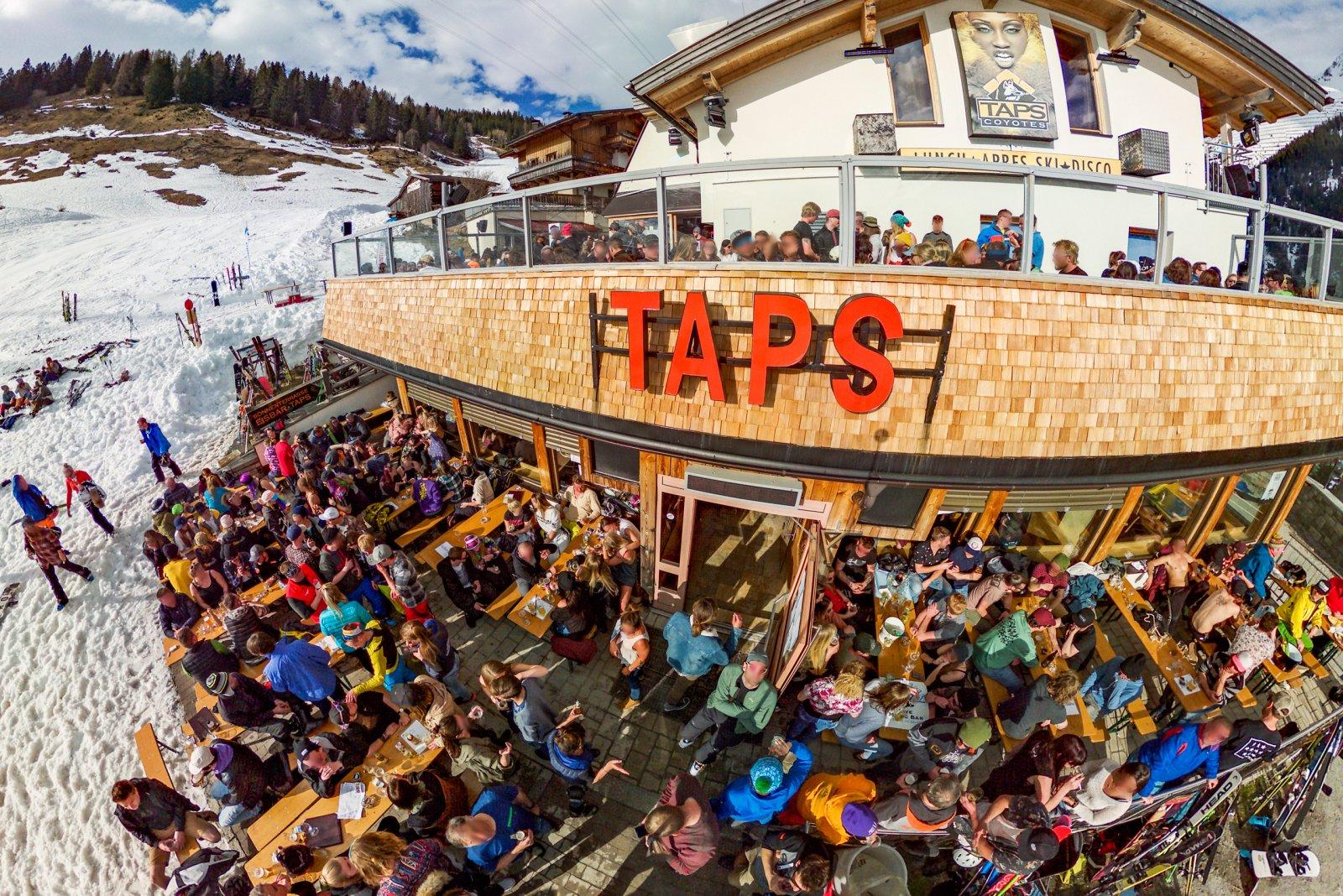 Taps Restaurant Und Après In Ski St Anton